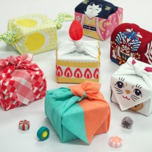 Eye-catching gift wrapping in Toyko train station.