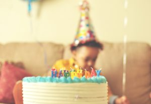 Celebrate your baby's first birthday.