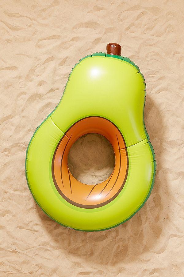 float in an avocado