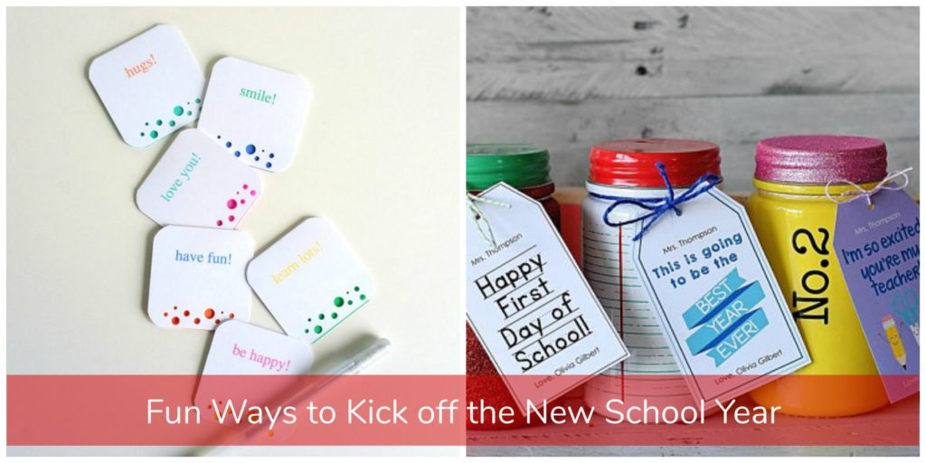 fun ideas for back to school