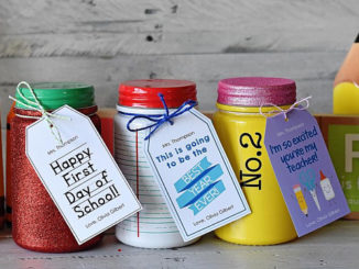 teacher gift for first day of school