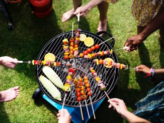 end of summer barbeque