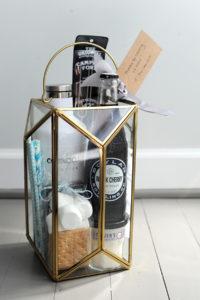 lantern gift basket