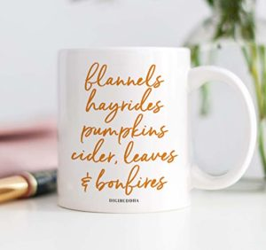 autumn inspired mug