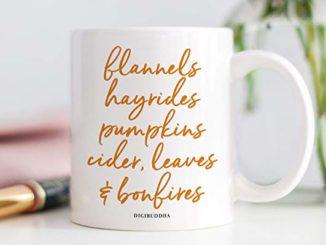 autumn inspired mug