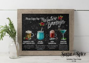 holiday drink list