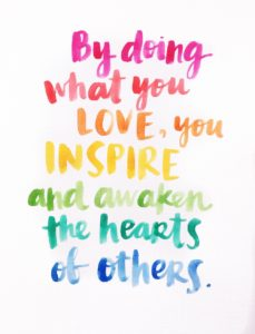 love inspires our best work