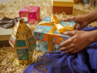 A gift exchange can be a great game to play on Eid.