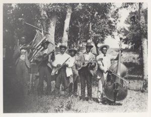 Emancipation Day Band, 1900