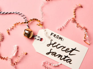 secret santa gift tag