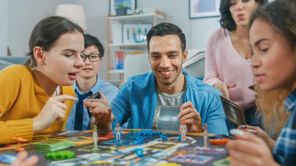 family board game night