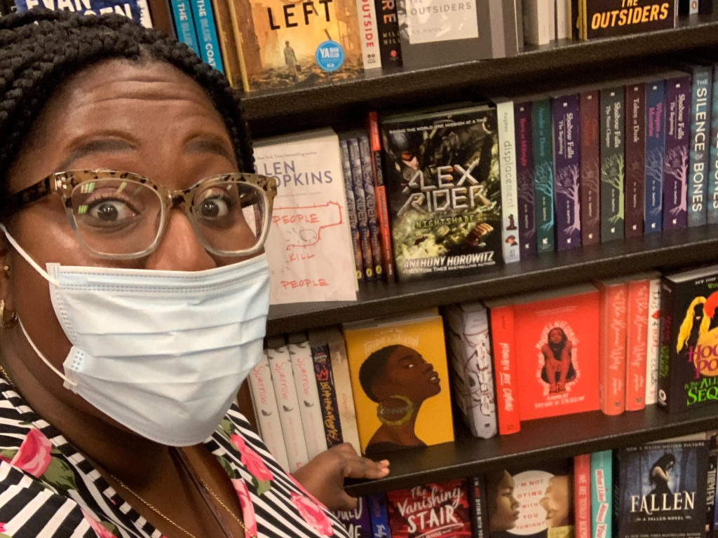 Christina Imohokpomoh, the Founder of Black Girls Read Books, Too