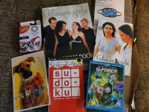 Gilmore Girls books and video