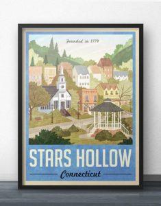 Stars Hollow, Connecticut illustration
