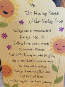 healing power of the smiley face
