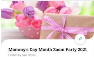 Mommy's Day Month Elfster page