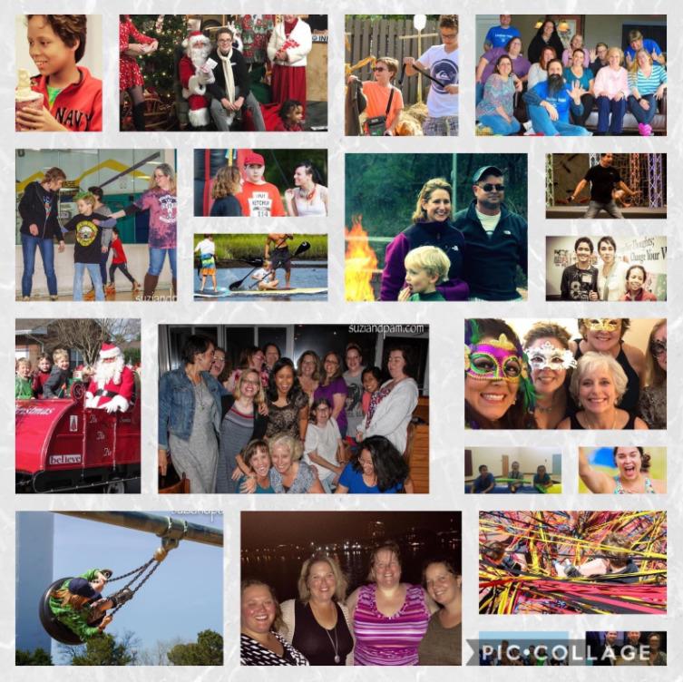 Collage of Spectrum Parents of Hampton Roads activities