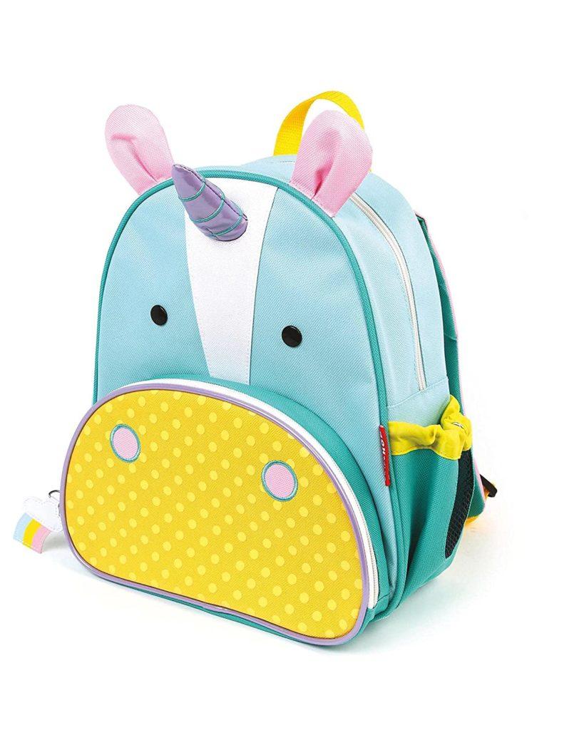 unicorn-style toddler backpack