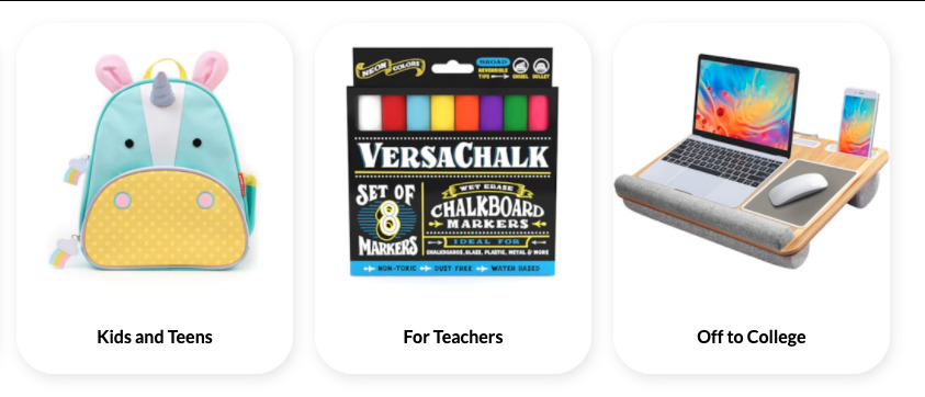 Elfster Back to School Gift Guides