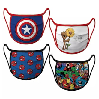 Marvel cloth face masks for kids and teens
