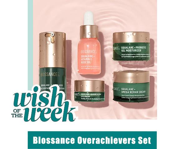 Biossance Overachievers set